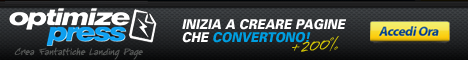 Videocorso OptimizePress Banner 468x60
