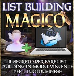 Videocorso List Building Magico Banner 200x200